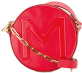 Thierry Mugler round crossbody bag - women - Leather - One Size