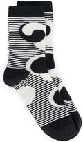Henrik Vibskov Fish Don't Sleep striped socks