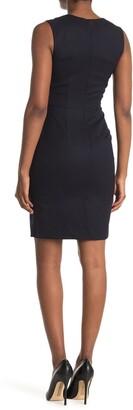 Reiss Hartley Sleeveless Tailored Sheath Dress
