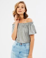 Sass Brenna Off Shoulder Top