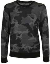 Michael Kors Camouflage Pattern Sweater