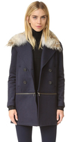 Veronica Beard Antares Convertible Coat
