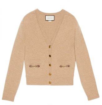 Gucci Cashmere cardigan with Horsebit