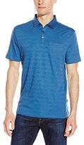 Calvin Klein Men's Solid Textured Polo Shirt