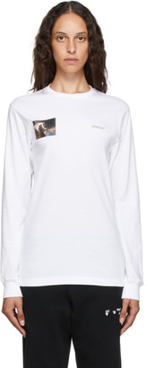 Off-White White Caravaggio Angel T-Shirt