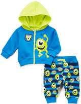 Children's Apparel Network Blue Monsters Inc. Mike Knit Hoodie & Pants - Infant