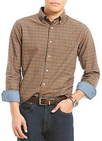 Daniel Cremieux Plaid Oxford Long-Sleeve Woven Shirt