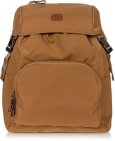 Bric's X-Travel Caramel Nylon Backpack