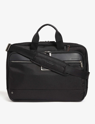 Briggs & Riley Large expandable ballistic nylon briefcase