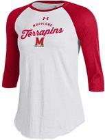 Under Armour Women's Maryland Terrapins Baseball Tee