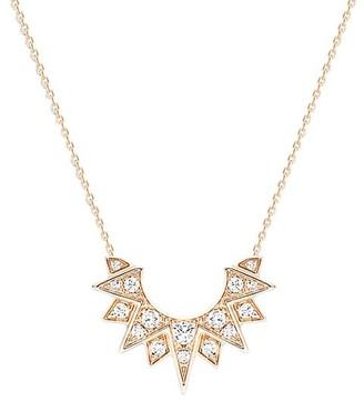 Piaget Sunlight 18K Rose Gold & Diamond Pendant Necklace