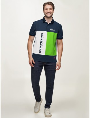 Tommy Hilfiger Seattle Seahawks Colorblock Polo