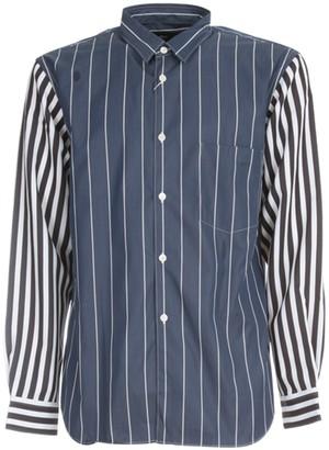 Comme des Garcons Oxford Stripe Patter Printed Shirt