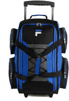 Fila Blue Carry-On Rolling Duffel Bag