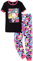 Petit Lem Do You Hear That? Comic Pajama - 2-Piece Set (Little Girls & Big Girls)