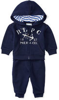 Ralph Lauren Cotton Hoodie & Pant Set