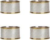 Oscar de la Renta Mosaico Napkin Rings - Set of 4