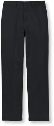 L.L. Bean Men's Wrinkle-Free Dress Chinos, Natural Fit Plain Front