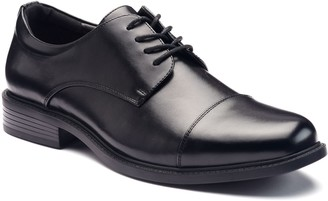 Croft & Barrow Affleck Men's Ortholite Cap-Toe Dress Shoes