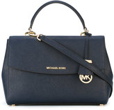 MICHAEL Michael Kors fold-over closure tote - women - Leather - One Size