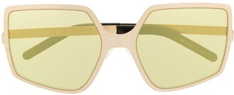 Courreges Oversized Frame Sunglasses