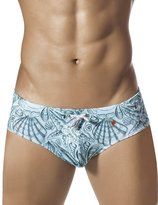 Clever 0608 Sea Life Swimsuit Brief. Color