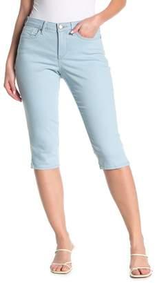NYDJ Skinny Diamond Side Seam Capri Jeans