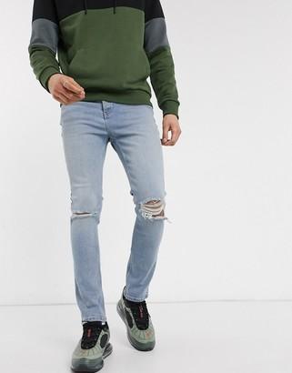 Bolongaro Trevor norris vintage indigo skinny jeans