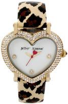Betsey Johnson Heart Case Watch, 36mm x 39mm