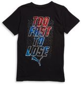 Puma Boys Too Fast To Lose Graphic Tee