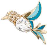 Jones New York Boxed Epoxy and Glass Stone Bird Pin