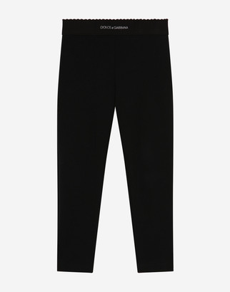 Dolce & Gabbana Cotton Leggings