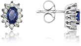 Tagliamonte Incanto Royale Sapphire and Diamond 18K Gold Earrings