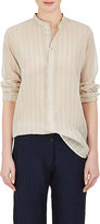 Pas De Calais Women's Striped Cotton-Silk Gauze Blouse