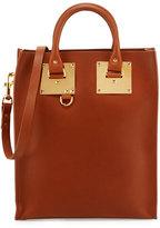Sophie Hulme Albion Mini Leather Tote Bag, Tan