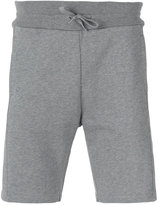 Moncler Gamme Bleu lateral patch sweatshorts - men - Cotton/Nylon - M