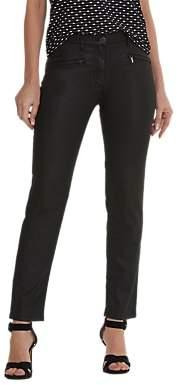 Betty Barclay Perfect Body Waxed Jeans, Black