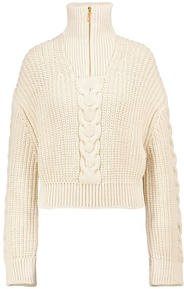 Nanushka Eria cotton-blend sweater