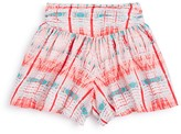 Ella Moss Girls' Printed Pull On Shorts - Sizes 7-14