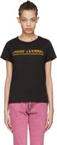 Marc Jacobs Black Classic Logo T-shirt