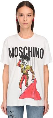 Moschino Oversize Torero Print Jersey T-Shirt