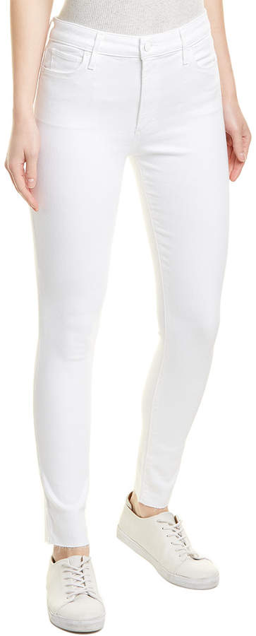 Joe's Jeans White High-Rise Skinny Ankle Cut
