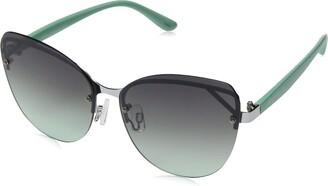Rocawear Women's R3273 Slvaq Non-Polarized Iridium Cateye Sunglasses