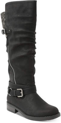XOXO Miles Tall Riding Boots Women Shoes