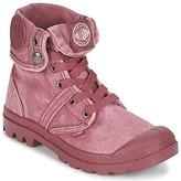 Palladium US BAGGY Pink / BORDEAUX