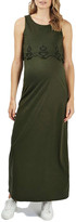 Topshop Cutwork Overlay Maxi Dress (Maternity)