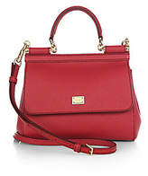 Dolce & Gabbana Women's Small Sicily Leather Top Handle Bag