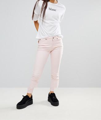 Noisy May Skinny Jeans-Pink