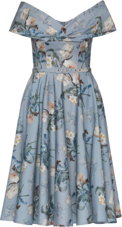 Lena Hoschek Divina Tulip Midi Dress