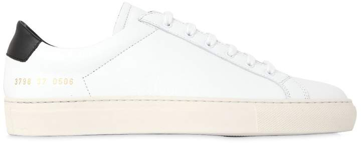 Common Projects 30mm Achilles Retro Leather Sneakers